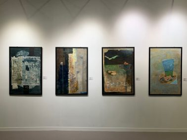 Artwork installation view, a series of work, by Samues Leung