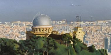 Fabra observatory, by Jones Longas (Spain), 40x80cm, HKD12000