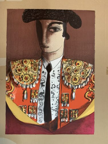 Hero, by Didier Lourenco (Spain), Limited edition of lithography, 66x90cm, HKD8000