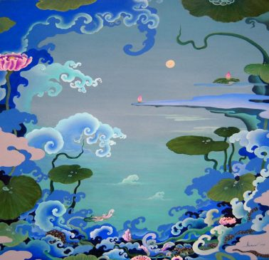 Mindscape 4 (Autumn Song), by Sanae Takahata (Japan), Oil, 61x73cm, HKD36000
