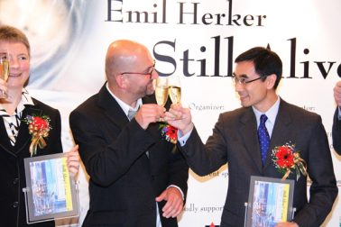 Austrian Art Exhibition - Emil Herker Painting Showcase at Lee Garden Opening, 26-05-2006